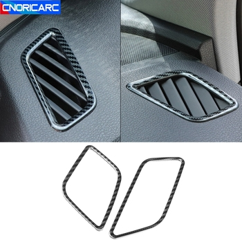 Car Styling Dashboard Air Outlets Frame Decoration Cover Trim For Audi Q5 FY 2018 2019 LHD Auto Interior Accessories image