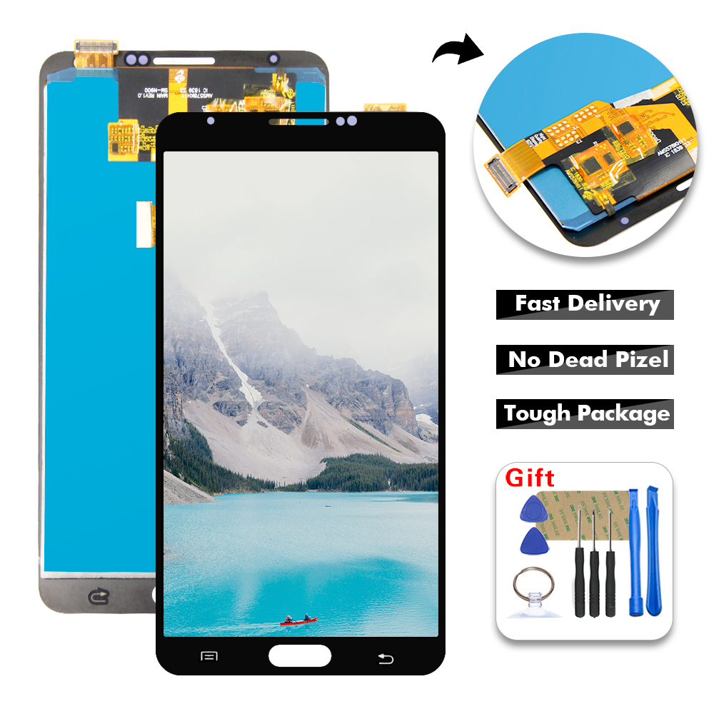 For Samsung-Galaxy Note3 Note 3 <font><b>N9000</b></font> N9005 N9006 <font><b>LCD</b></font> Display Touch Screen Digitizer Assembly For Samsung-Note 3 <font><b>LCD</b></font> Display image