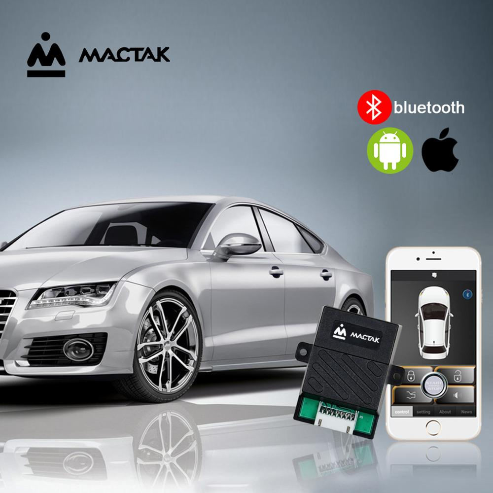 PKE Keyless Entry Control The Car By Mobile Phone With Remote Start  And Bluetooth Control Close To The Lock/leave The Lock 686W