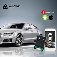 PKE keyless entry Control the car by mobile phone With Remote Start  And bluetooth control Close to the lock/leave the lock 686W|Burglar Alarm| |  -