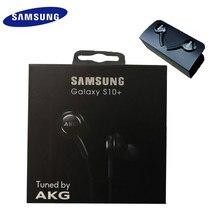 Samsung akg fone de ouvido eo ig955 3.5mm in-ear com microfone fone de ouvido com fio para samsung galaxy s10 + s10 s9 s8 s7 s6 s5 huawe smartphone