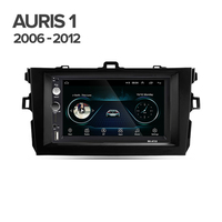 2 din Car Radio Multimedia video Player For Toyota Auris 1 E150 2006 2012 Surrounded Trim Panel Kit Android 8.1 player