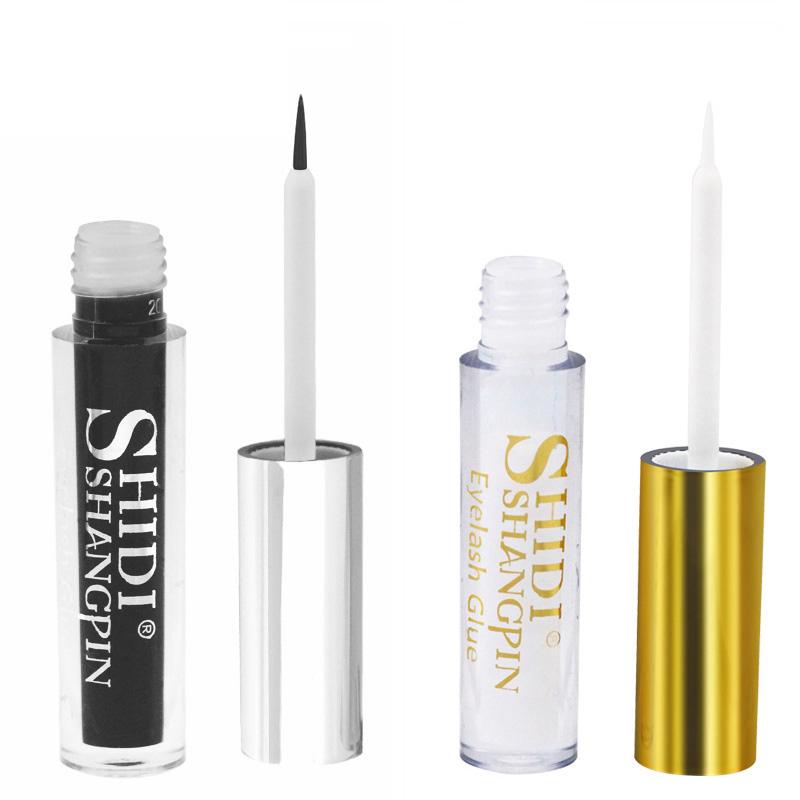 Eyelash glues glue for eyelash cosmetic tools 5ml glues for eyelash glue sticker cola para cilios false eyelashes adhesive