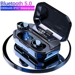 Bluetooth Wireless Earphone TWS Earbuds Hifi Sound Improve X6 Pro Upgrade With Charger Box 3300mAh Power Display