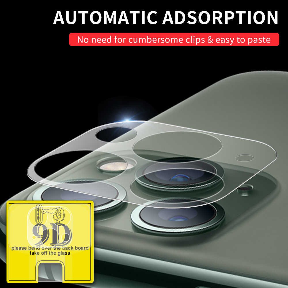 Protective Camera Lens Film For iPhone 11 Pro Max 9D Back Camera Screen Protector For iPhone 11 Pro 9D Camera Film For iPhone 11