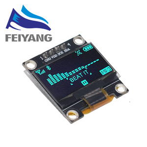 Image 3 - New product 0.96 inch OLED IIC White/YELLOW BLUE/BLUE 12864 OLED Display Module I2C SSD1306 LCD Screen Board for Arduino