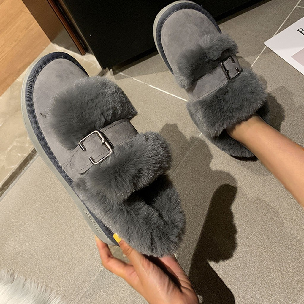 Quality Woman Boots Snow Ankle Boots Plush lining Heels Shoes Woman Female Warm Comfort Boots 2019 Flat 59