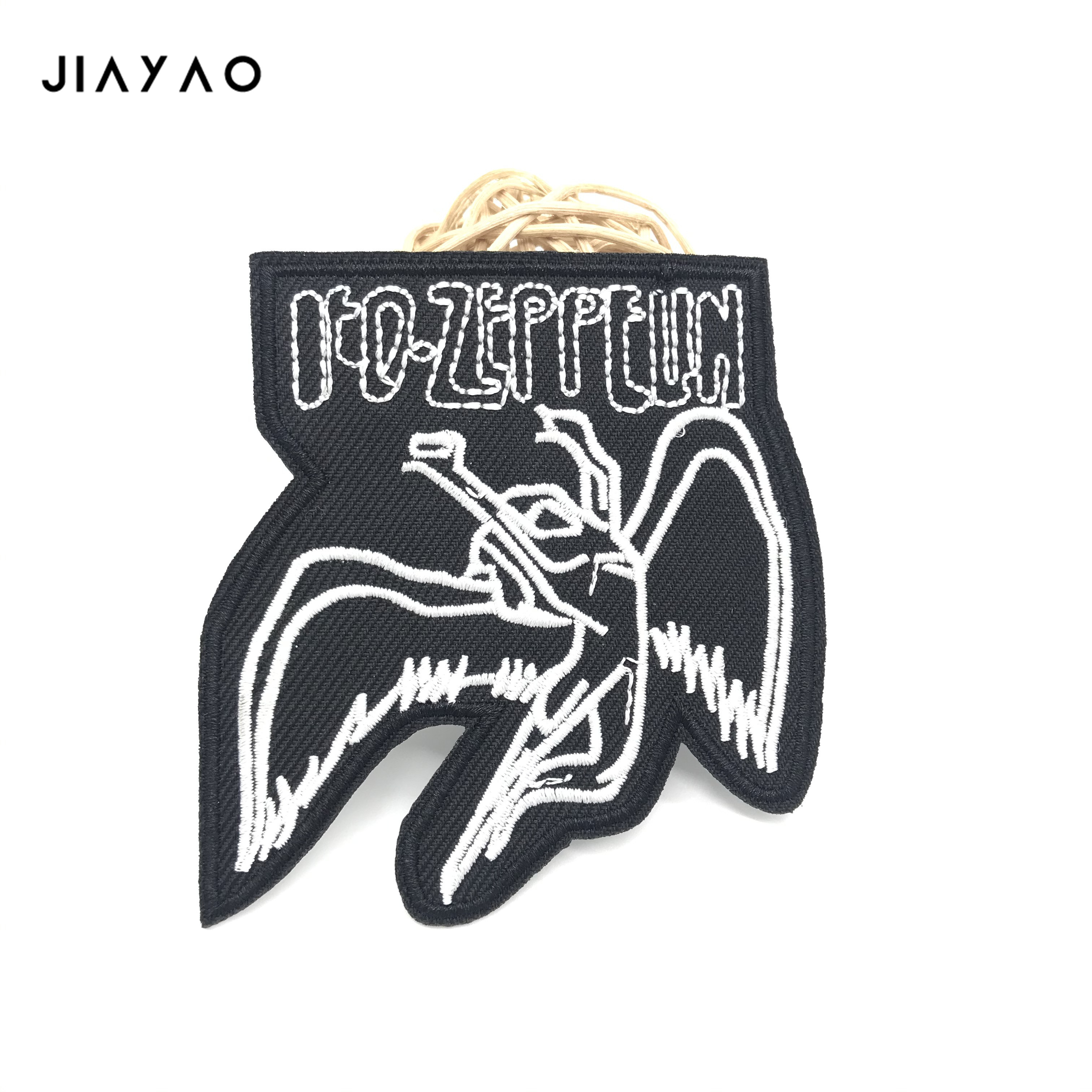 Купить с кэшбэком Embroidered Applique Rock music Patch Badges Sewing Iron On Badge Clothes Garment Apparel Accessories