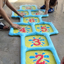 Game-Mat Kids -38 Sprinkler-Lawn Water-Spray-Cushion Jumping-Number Outdoor-Toys Inflatable