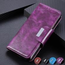 6 فتحات بطاقة محفظة جلد الوجه حالة لسوني XZ5 XZ4 XZ3 اريكسون 20 10 زائد L3 حامل المغناطيسي إغلاق ID بطاقات الائتمان جيب