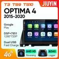 JIUYIN для Kia Optima 4 2015-2020 автомобильный Радио мультимедийный видео плеер навигация GPS Android No 2din 2 din