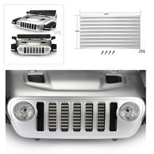 Металлическая сетка для имитации резервуара для воды Axial SCX10 III AXI03007 Jeep Wrangler радиоуправляемые автомобильные решетки впускная бленда