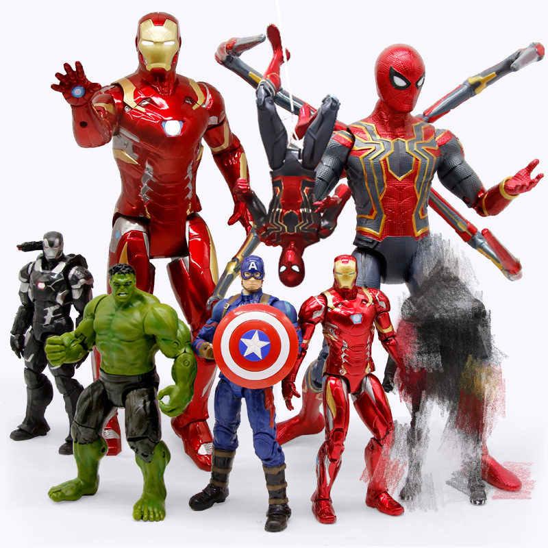 Apaffa 15cm vingadores figma homem de ferro mark 42 com sofá pvc figura ação brinquedo homem de ferro marca 42 colecionáveis modelo brinquedos para crianças