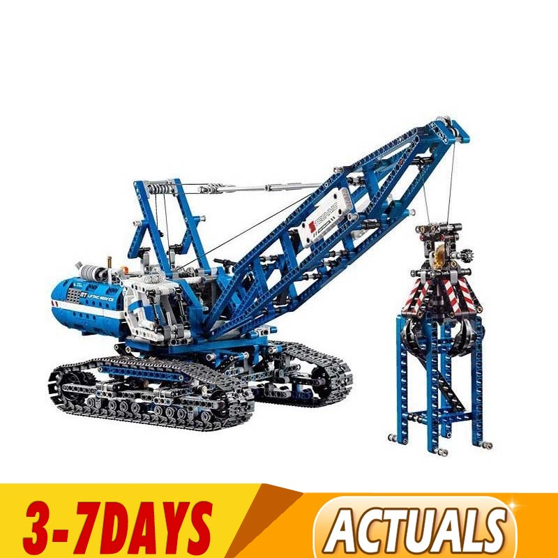 IN Stock DHL Technic 20010 90010 Technic Huge Crawler Crane Building Blocks Bricks Kit Toys Crane 42042 Set with Power Functions 1