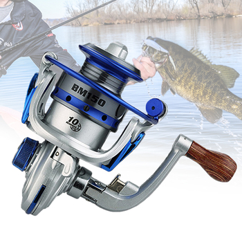 150g MINI Type Fishing Reel Spinning Wheel 10 Bearings 5.2: 1 Metal Fish Exquisite Gear Outdoor  New