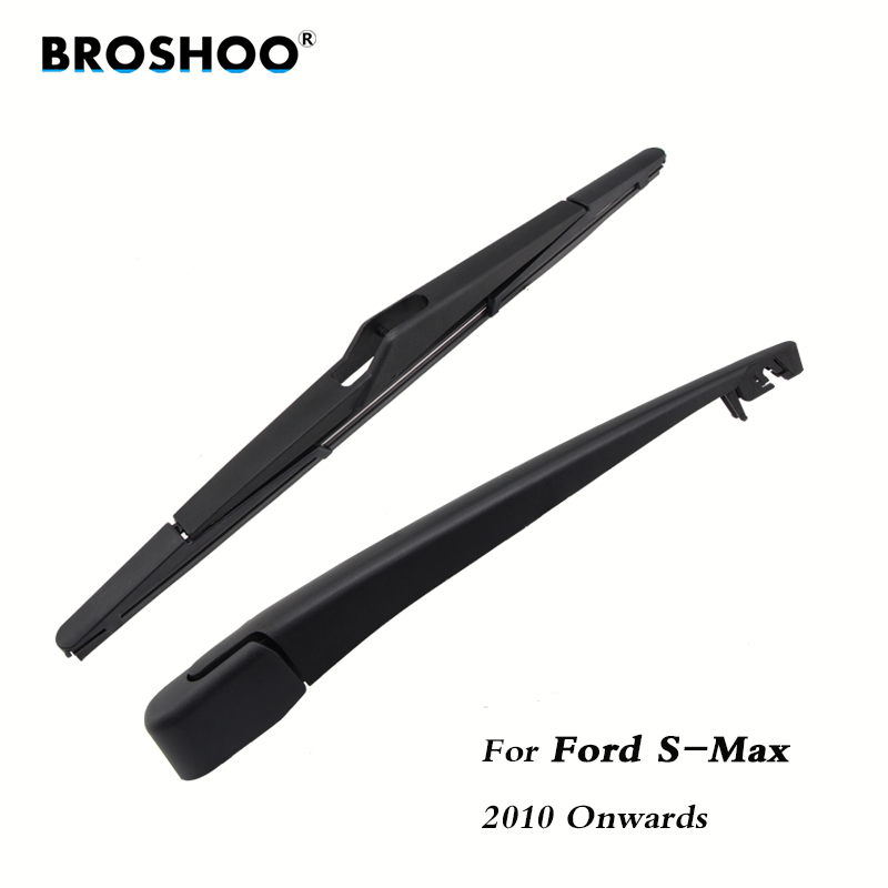 BROSHOO Car Rear Wiper Blade Blades Back Windscreen Wiper Arm For Ford For S-MAX Hatchback (2010 Onwards) 320mm Auto Styling
