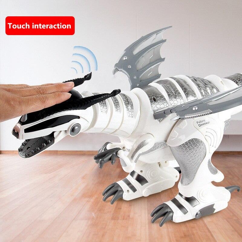 66CM Large Smart Robot Toy RC Dinosaur Touch Sensing Smart Conversation English Popular Science Teaching Educational Robotics - 3
