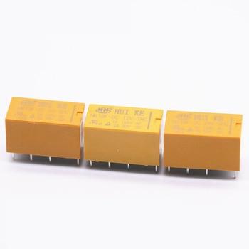 цена на HK19F-DC5V-SHG HK19F-DC12V-SHG HK19F-DC24V-SHG HK19F-DC3V-SHG Coil DPDT 8 Pin 2NO 2NC Mini Power Relays PCB Type
