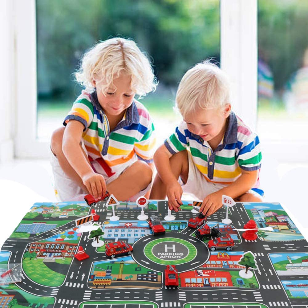 conjunto de brinquedos carro com 46 04