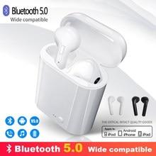 I7s tws fones de ouvido sem fio bluetooth 5.0 fone esporte com caixa carregamento para apple iphone android todo o telefone