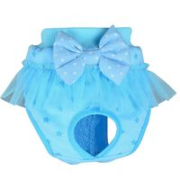 Female/Male Pet Dog Puppy Diaper Pants Pet Underwear Physiological Sanitary Bow Short Panty Nappy Underwear