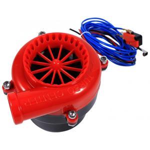 Image 4 - Зарубежный Автомобильный Электронный поддельный Dump Турбокомпрессор, выдувный клапан с гудком, аналоговый звук, комплект для симулятор BOV, АБС пластик