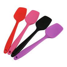 1Pcs 27Cm Bakken Tools Voor Gebak Siliconen Spatel Cookie Pastry Schraper Mixer Buttter Ijs Scoop Niet-stok Koken Spatel