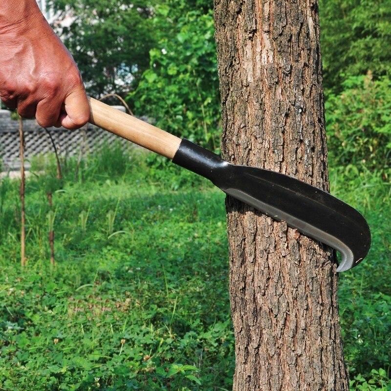 Tool Gardening Garden Grass Hand Handle For Weeding Sickle Long Sharp Knife Scythe Steel Sickle Lightweight Hand Manganese