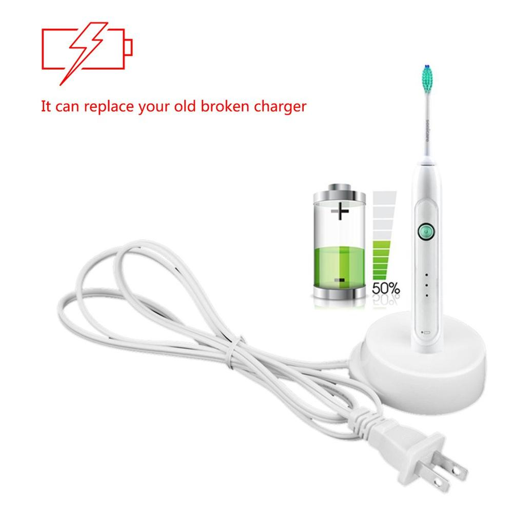110V Replacement Electric Toothbrush Charger Model 3757 US Plug for Braun Oral-b D17 OC18 Toothbrush Charging Cradle image