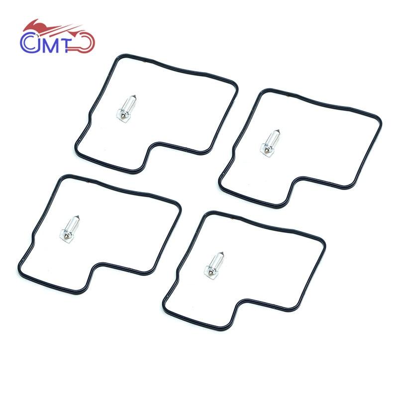 4 шт прокладки для карбюратора honda shadow 400 600 750 nv400