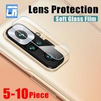 5-10 piezas de la Lente de la Cámara de vidrio para Xiaomi 11 Ultra 10 11i 10s 10i Redmi Note 9S 7 8 9 10 Pro 9T 8T Protector de pantalla Poco F3 X3 de vidrio