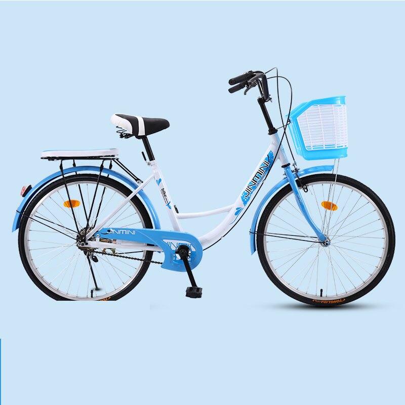 Велосипедный велосипед для взрослых женщин 26 дюймов для поездок в город ретро дамы студентов Grils Досуг свет автомобиль 2019 Новый