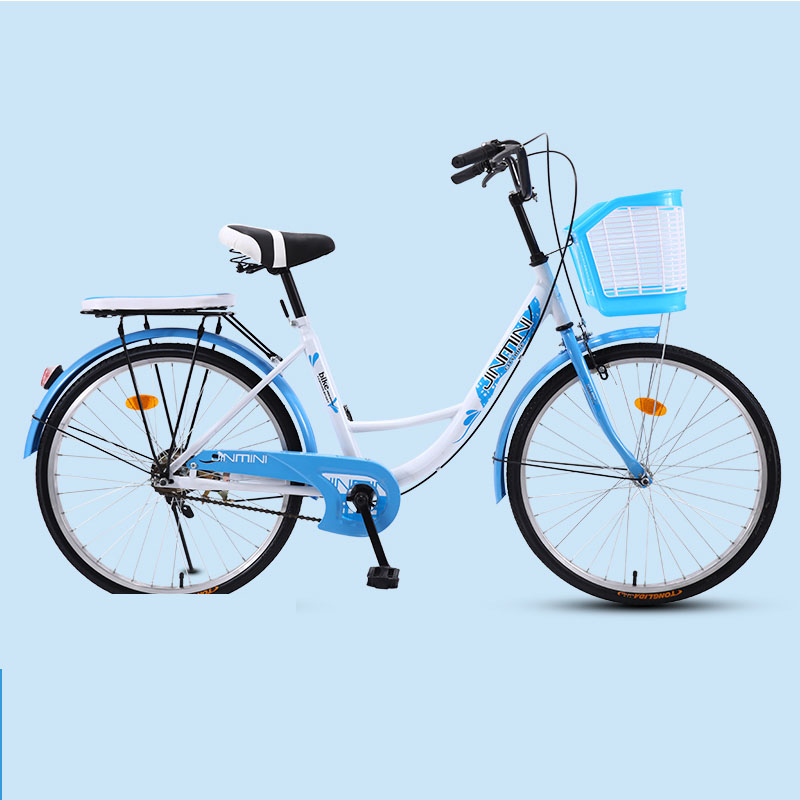 Bicycle Bike Adult Women's 26 Inch Commuter City Retro Ladies Students Grils Leisure Light Car 2019 New