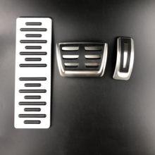 Coche Freno de combustible de reposapiés pedales para Audi A4 S4 A5 S5 8T Q2 Q3 Q5 SQ5 A6 C7 A7 S7 S6 4G A8 S8 4H Q7 Q8 para Porsche Macan