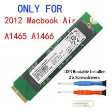 Novo 128gb 256gb 512gb 1tb ssd, para 2012 macbook air a1465 a1466 md231 md232 md223 md224 unidade de estado sólido mac ssd