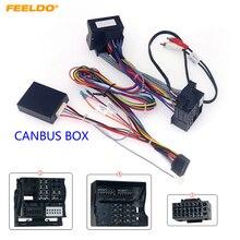 Feeldo carro 16pin power cablagem cabo adaptador com canbus para bmw x3/e83 (06 10) instalar aftermarket android estéreo # hq6729