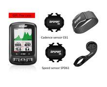 IGPSPORT Ciclismo Wireless Del Computer ANT + Tachimetro Della Bicicletta IGS618 Bike Frequenza Cardiaca Velocità Sensore di Cadenza Accessori Per Computer
