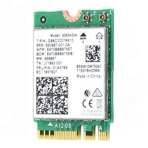 Image 3 - Double bande sans fil pour Intel 9260 carte WiFi 9260NGW 9260AC NGFF M.2 1.73Gbps 802.11ac Bluetooth 5.0 adaptateur réseau Wlan