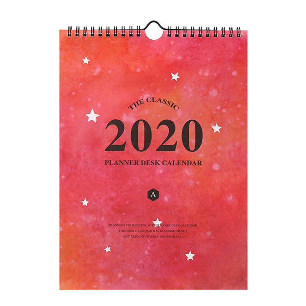 2020 Wall Calendar Monthly Large Wall Calendar Big Hanging Academic Calendar For Planning And Organizing In Home Or Office