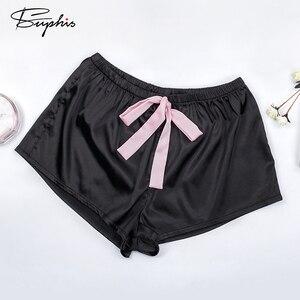 Image 4 - Suphis çiçek dantel pembe Cami pijama takımı kadınlar siyah kısa seti 2020 yaz rahat gecelikler bayanlar seksi saten pijama