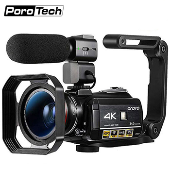 3.1inch Screen Digital Camera Professional Night-vision Recording Used As PC Cam Camcorder Ultra HD 4K Video Camera Anti-shake 1