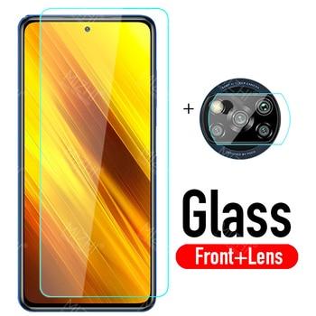 protective glass poco x3 camera lens screen protector For xiaomi poco x 3 x3 pocox3 xiomi pocophone 3x m3 tempered glass film