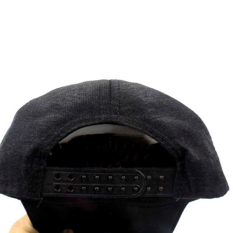 Image 4 - New Fashion black Snapback Baseball Cap cotton Gorras Caps Hats Woman Sequin Hip Hop Hats For Men Women-in Men's Baseball Caps from Apparel Accessories on AliExpress