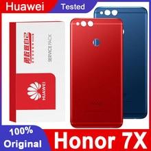 Original BackHousing Ersatz für HuaweiHonor 7X Zurück Abdeckung Batterie Glas mit Kamera Objektiv für Huawei Ehre 7X Hintere abdeckung