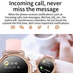 Image 4 - V25 Smart Watch Women Body Temperature Smart Bracelet IP67 Waterproof Blood Pressure VS GW33 V23 Smartwatch Andriod IOS Phone