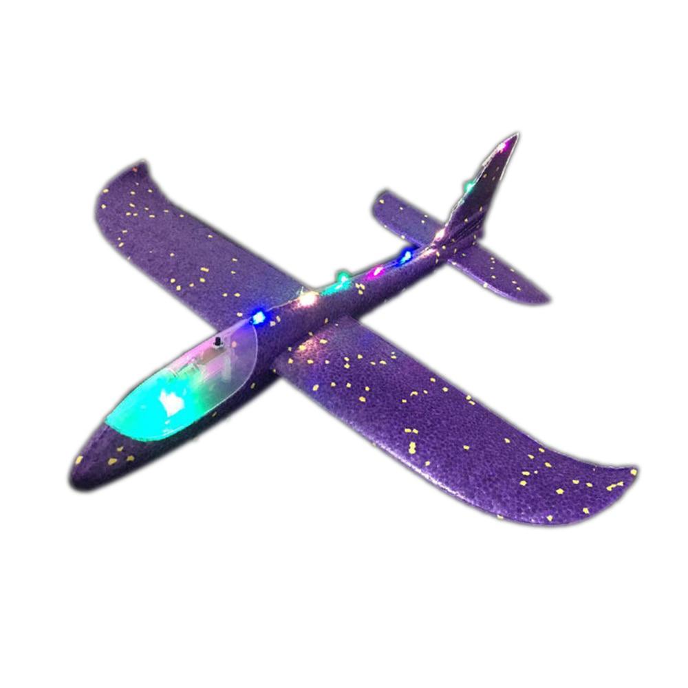 Halolo-avion EPP en mousse à lancer à l'extérieur, jouets pour enfants, lancement intéressant de 48 cm, modèle inertiel, drôle 5