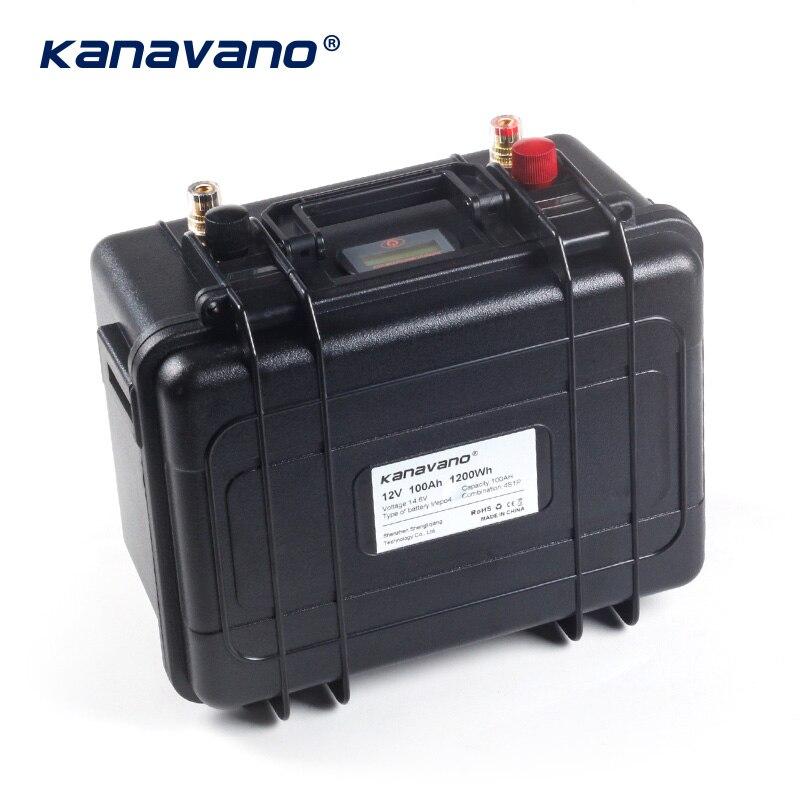 12v 100Ah ciclo profundo Lifepo4 batería de fosfato de hierro de litio BMS incorporado para carrito de Golf EV RV batería de almacenamiento de energía Solar - 4