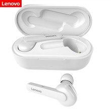 Lenovo ht28 fones de ouvido sem fio bluetooth tws 5.0 música alta fidelidade com microfone para android ios smartphone