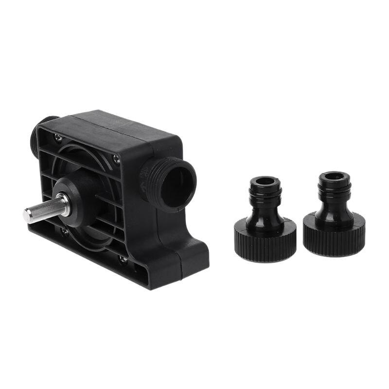 Electric Drill Pump Self-Priming Transfer Oil Fluid Water Anti-Corrosion High Temperature Resistant Portable