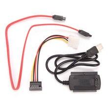 Usb 20 ide/sata адаптер кабель 4 контактный Мощность для 25
